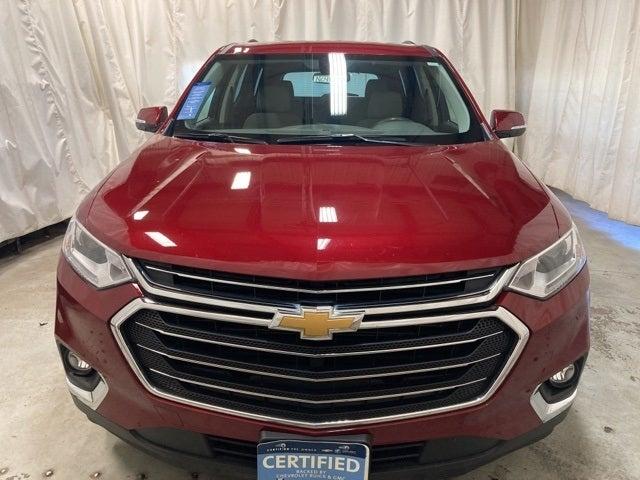 Certified 2019 Chevrolet Traverse 1LT with VIN 1GNEVGKW7KJ112266 for sale in Northfield, Minnesota