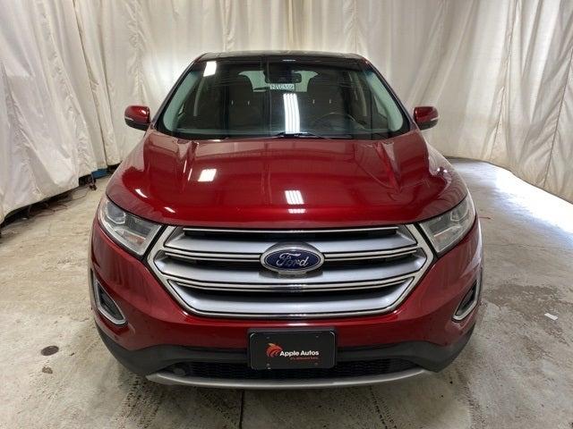 Used 2015 Ford Edge Titanium with VIN 2FMPK4K80FBC39909 for sale in Northfield, Minnesota