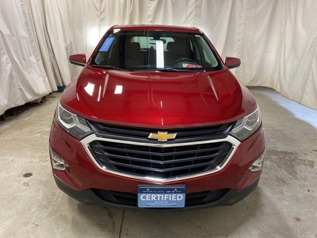 Certified 2019 Chevrolet Equinox LT with VIN 3GNAXUEV2KS584738 for sale in Northfield, Minnesota