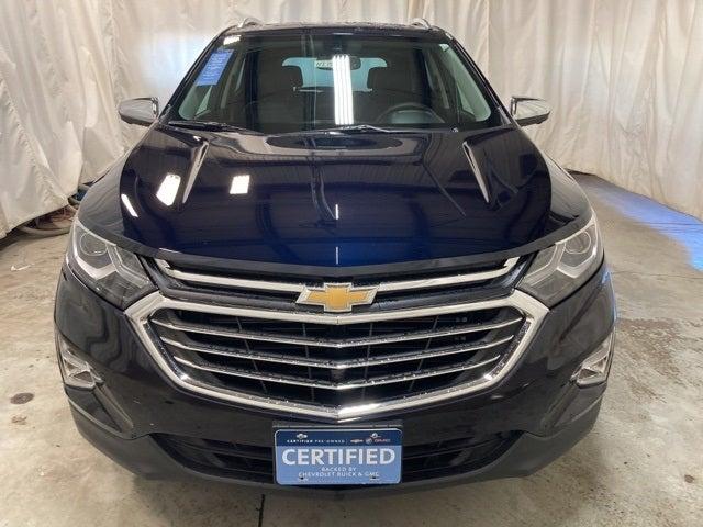 Certified 2021 Chevrolet Equinox Premier with VIN 3GNAXXEV7MS108991 for sale in Northfield, Minnesota